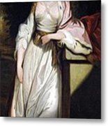 Lady Mary Isabella Somerset Metal Print by Robert Smirke
