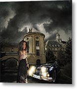 Lady Of The Night Metal Print by Nathan Wright