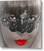 Lady Of The Opera Metal Print