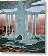 Lady Of The Sea Metal Print