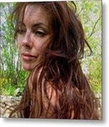 Lady Primavera. Metal Print