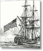 Lady Washington At Friendly Cove Metal Print