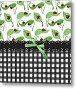 Ladybug Delight Metal Print