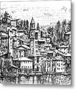 Lago Di Como-brienno Metal Print