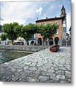 Lago Maggiore Ascona   Metal Print