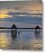 Lagoon At Sunset Metal Print