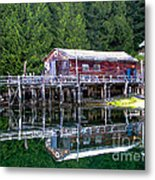 Lagoon Cove Metal Print by Robert Bales