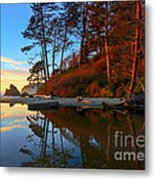 Lagoon Sunrise 1 Metal Print