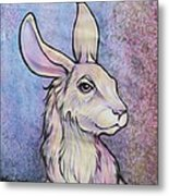 Lagos The Noble Hare Metal Print