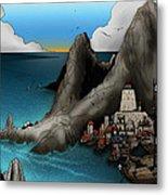 Lagott Island Metal Print