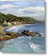 Laguna Beach Metal Print by Alice Leggett