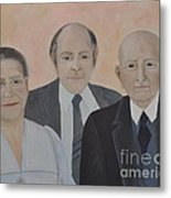 Lahoud Family Metal Print
