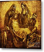 Laid_in_the_tomb Via Dolorosa 14 Metal Print by Lianne Schneider
