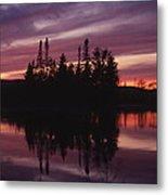 Lake Adirondack Metal Print