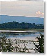 Lake Along Klondike Highway-yt Metal Print