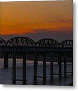 Lake Amistad Sunset Metal Print