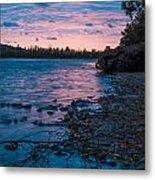 Lake Bailey Sunset Metal Print