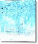 Lake Blue Metal Print
