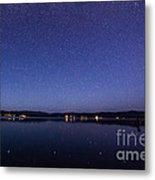 Lake Cascade Idaho By Night Metal Print