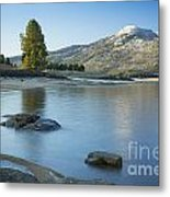 Lake Cascade Metal Print