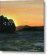 Lake Champlain Adirondack Mountains Vt/ny Metal Print