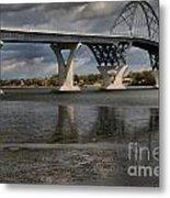 Lake Champlain Bridge Metal Print