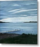 Lake Champlain Islands Metal Print