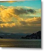 Lake Coeur D'alene Metal Print