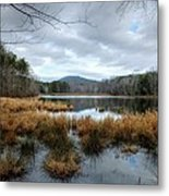Lake Crowders Mountain Metal Print