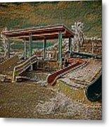 Lake Delores Water Park Metal Print