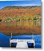 Lake Elmore Autumn Metal Print
