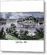 Lake Erie - 1815 Metal Print
