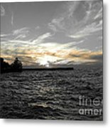 Lake Erie Lights Metal Print