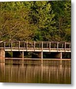 Lake Forest Bridge Metal Print