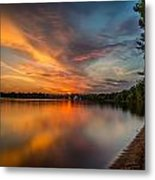 Lake Harriet Grand Finale Metal Print