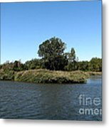Lake Kirsty At Tifft Nature Preserve Buffalo New York Metal Print