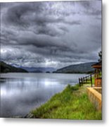 Lake Koocanusa At Libby Dam Metal Print