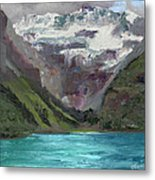 Lake Louise Canada Metal Print