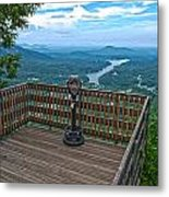 Lake Lure Overlook Metal Print