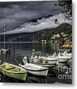 Lake Maggiore Ascona Metal Print
