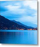 Lake Maggiore Before Sunrise Metal Print