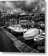 Lake Maggiore Bw 1 Metal Print