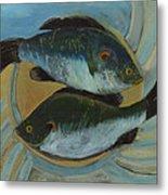 Lake Martin Fish Metal Print
