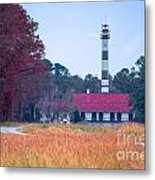 Lake Mattamuskeet Pumping Station Metal Print