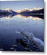 Lake Mcdonald Winter Metal Print