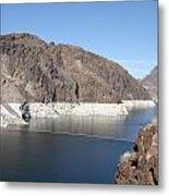 Lake Mead At Hoover Dam 2 Metal Print