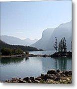 Lake Mennewanka Metal Print by Carolyn Ardolino