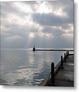 Lake Michigan At Rest Metal Print