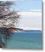 Lake Michigan Bluffs Metal Print