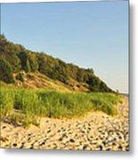 Lake Michigan Dunes 01 Metal Print